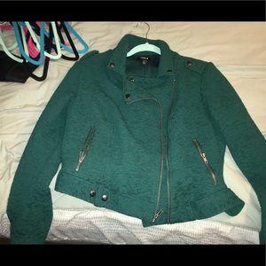Torrid emerald jacket - cropped